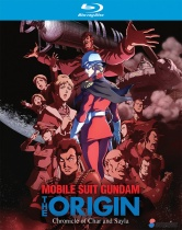 Mobile Suit Gundam The Origin Chronicle of Char and Sayla Collection Blu-Ray