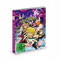 The Seven Deadly Sins Movie - Prisoners of the Sky DVD