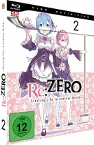 Re:ZERO - Starting Life in Another World Blu-ray Vol. 2