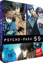 Psycho-Pass: Sinners of the System (3 Movies) DVD Steelcase Limited Edition