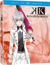K Return of Kings Blu-ray/DVD