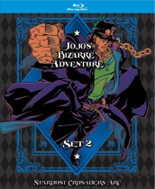 JoJo's Bizarre Adventure Set 2 Blu-ray LTD