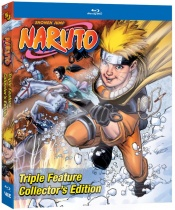 Naruto Triple Feature Collector's Edition Steelbook Blu-ray