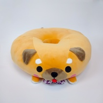 AMUSE Mameshiba Sankyodai Mochikko Dodeka Donut Big Plush - Mamezaburo