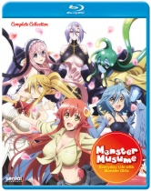 Monster Musume Everyday Life with Monster Girls Complete Blu-ray