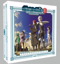 Is It Wrong to Try to Pick Up Girls in a Dungeon?! Season 2 Premium Box Set Blu-ray/DVD