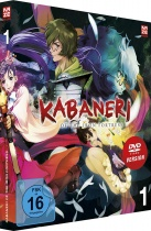 Kabaneri of the Iron Fortress  DVD Vol. 1