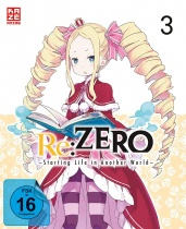 Re:ZERO - Starting Life in Another World  DVD Vol. 3