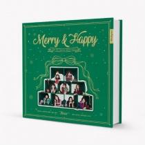 Twice - The 1st Album Repackage - Merry & Happy (KR)