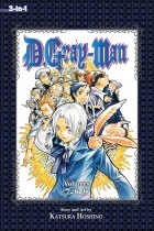 D.Gray-man 3-in-1 Edition Vol.3 (US)