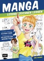 Manga lesend Zeichnen lernen