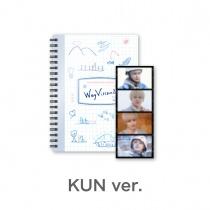 WayV - WayVision2 Commentary Book + Film - KUN Ver. (KR)