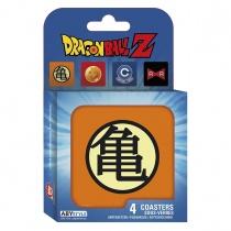 Dragon Ball Z Symbols Coaster Set
