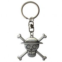 One Piece Ruffy Skull 3D Keychain