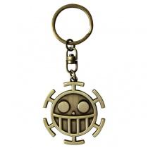 One Piece Trafalgar Law 3D Symbol Keychain