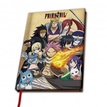 """Fairy Tail A5 Notebook """"Group"""""""