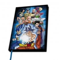"""Dragon Ball A5 Notebook """"Univverse 7"""""""