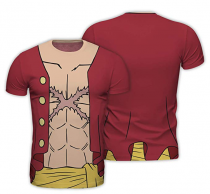"""One Piece T-Shirt Cosplay """"Luffy New World"""""""