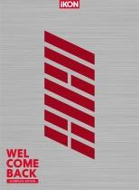 iKON - WELCOME BACK -Complete Edition- 2 CD+DVD LTD