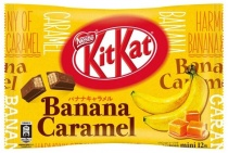 KitKat Mini Banana & Caramel