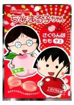 Chibi Maruko-Chan Cherry & Peach Gummy Candy