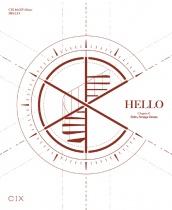 """CIX - 4th EP Album - """"HELLO"""" Chapter Ø. Hello, Strange Dream (KR)"""