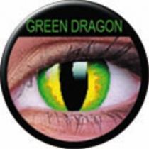 ColourVUE Crazy Lens Green Dragon Kontaktlinsen