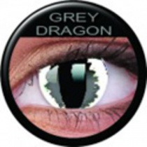 ColourVUE Crazy Lens Grey Dragon Kontaktlinsen