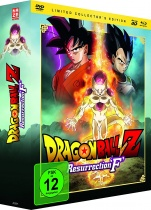Dragon Ball Z: Resurrection F - Limited Collector's Edition (DVD, Blu-ray & 3D-Blu-ray)