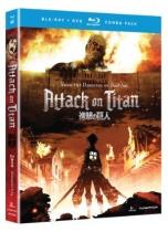 Attack on Titan Part 1 Blu-ray/DVD