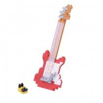nanoblock Mini Series Electric Guitar Red