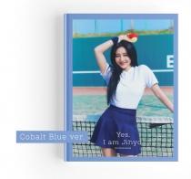 Jihyo (Twice) - Yes, I am Jihyo Photobook (Cobalt Blue Ver.) (KR) PREORDER