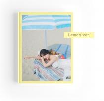 Jihyo (Twice) - Yes, I am Jihyo Photobook (Lemon Ver.) (KR)