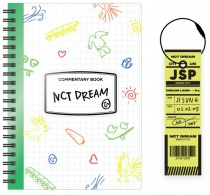 NCT DREAM - NCT LIFE : DREAM in Wonderland Commentary Book + Luguage Tag Set (JISUNG) (KR)
