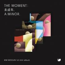 KIM WOOJIN - Mini Album Vol.1- The moment: a minor (KR)