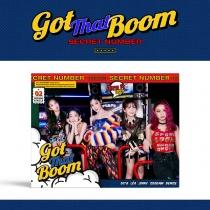 SECRET NUMBER - Single Album Vol.2 - Got That Boom (KR)