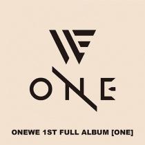 ONEWE - 1st Full Album - ONE (KR)