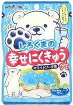 Senjaku Shirokuma Happy Nikukyu Gummy White Soda