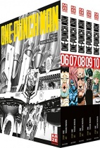 ONE PUNCH MAN Vollschuber Vol.2 Band 6-10
