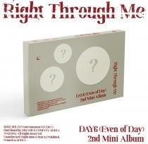 DAY6 (Even of Day) - Mini Album Vol.2 - Right Through Me (KR)