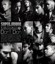 Super Junior - The 2nd Album Don't Don Type A