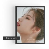 Sana (Twice) - Yes, I am Sana Photobook (Black Ver.) (KR)
