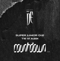SUPER JUNIOR D&E - 1st Full Album COUNTDOWN (COUNTDOWN Ver.) (KR) PREORDER
