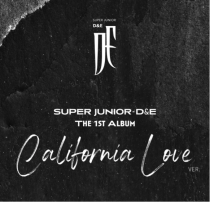 SUPER JUNIOR D&E - 1st Full Album COUNTDOWN (California Love Ver.) (KR) PREORDER