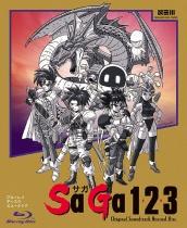 SaGa 1.2.3 OST Revival Disc Blu-ray