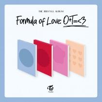 TWICE - Vol.3 - Formula of Love: O+T=<3 (KR) PREORDER