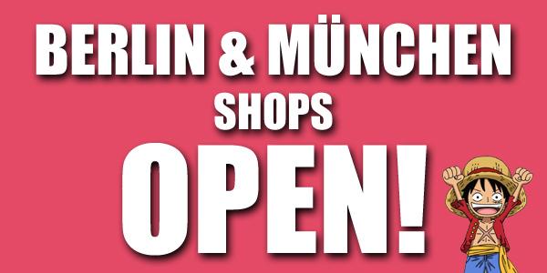 München & Berlin Shop Info